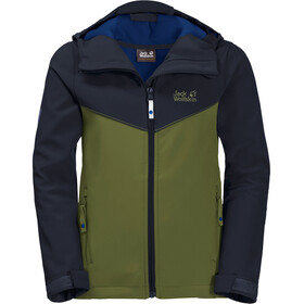 Jack Wolfskin B Windmill Road Jas Kinderen, cypress green